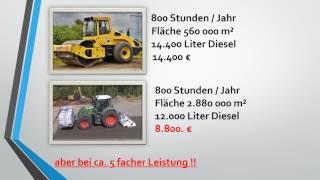 Energieeffiziente Bodenverdichtung im Straßenbau