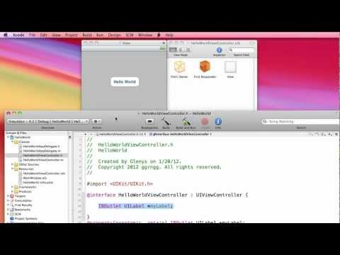 Xcode 3 Hello World