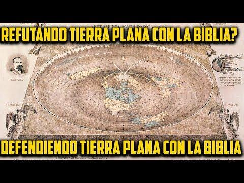 Mapa Tierra Plana 1893. Refutando Biblicamente?