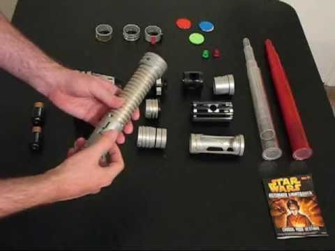 How To Make Origami Star Wars Lightsaber