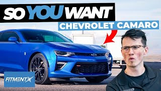 So You Want a 2010+ Chevy Camaro