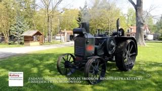 Ciągnik Rumely Oil Pull X 25-40 w zbiorach Muzeum Rolnictwa im. ks. Krzysztofa Kluka w Ciechanowcu