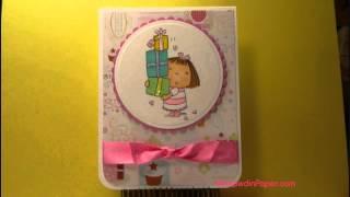 Betsy Bluebell Birthday Card