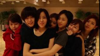 REAL T-ARA Dance Practice #1 2011 Roly Poly & others Eng Sub