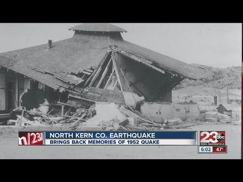 Earthquake alarms Bakersfield residents; brings back memories from 1952