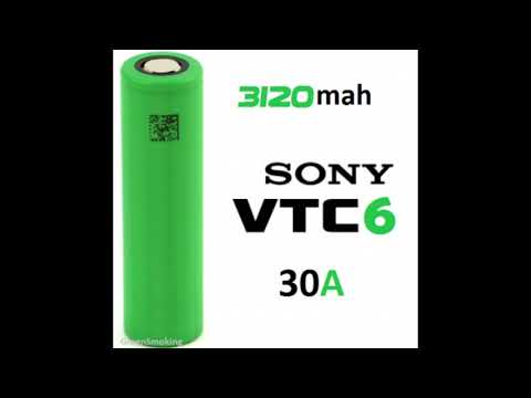 First Look At Sony US18650VC7 - NEW 3500mah 8A Lithium-ion Cell