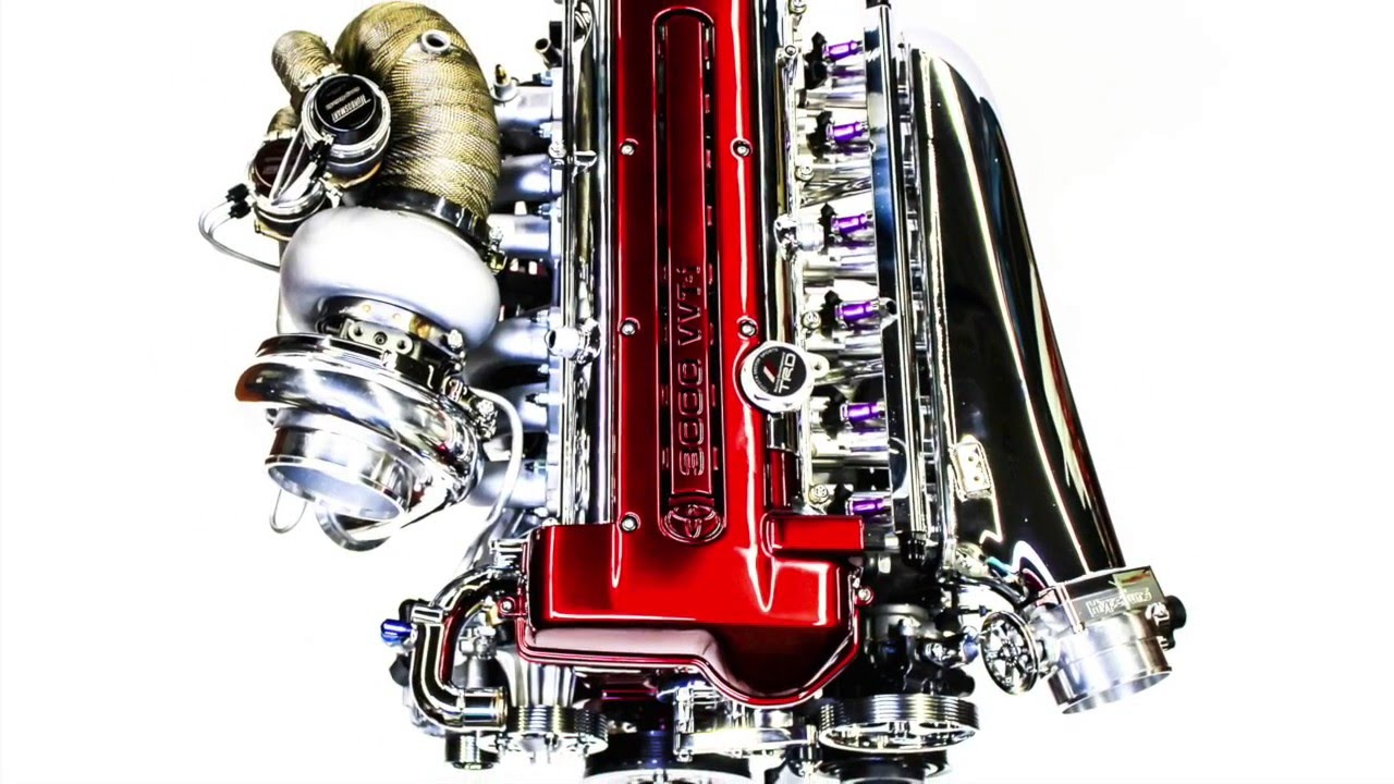 Toyota Supra 2JZ 3 4 Stroker VVT-i new engine is built
