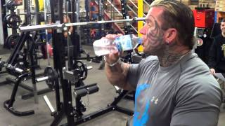 Lee Priest Leg Press Laughs