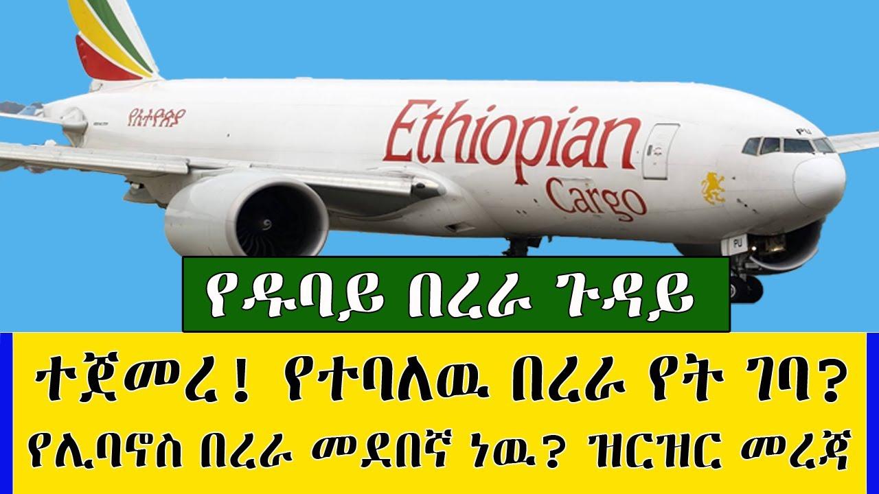 Ethiopia ተጀመረ! የተባለዉ ከዱባይ ኢትዮጵያ በረራ የት ገባ? የቤሩት በረራ መደበኛ ነዉ? ዝርዝር ማብራሪያ kef tube travel information