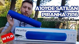 A101'de satılan Piranha A7816 Bluetooth hoparlör (HEDİYELİ)