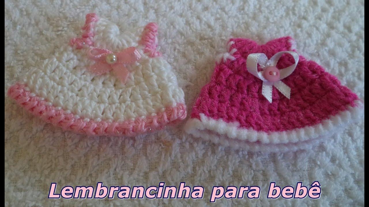 DiySouvenir Lembrancinha Em Croch N 1 Para Beb