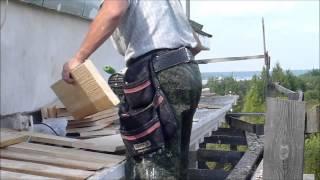 видео Устройство карнизов и наружных водосточных труб