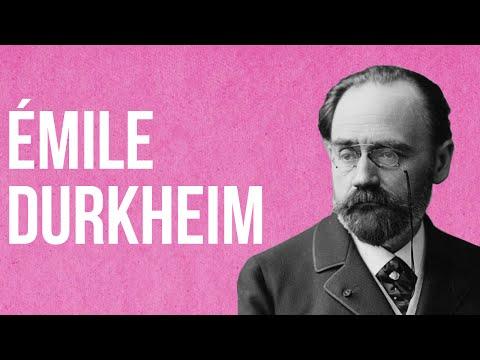 SOCIOLOGY - Émile Durkheim