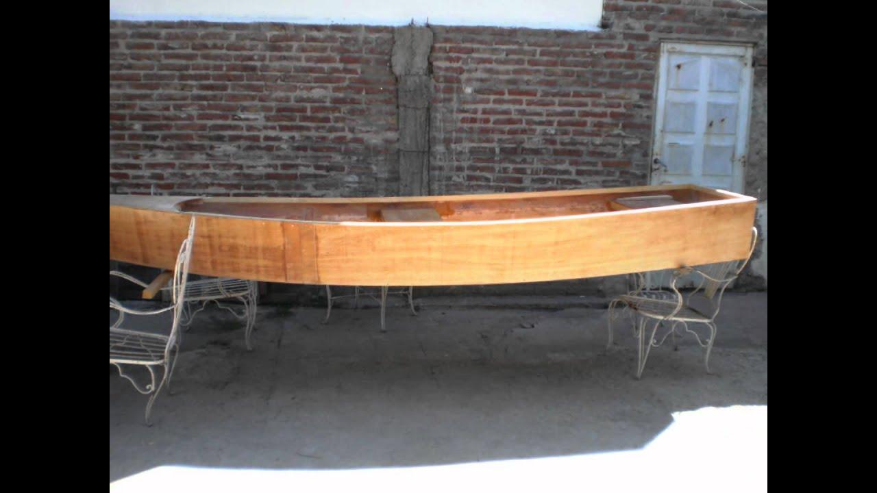 Bote de madera youtube for Como fabricar un kiosco de madera