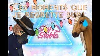 Ces moments que je regrette sur Star Stable Online