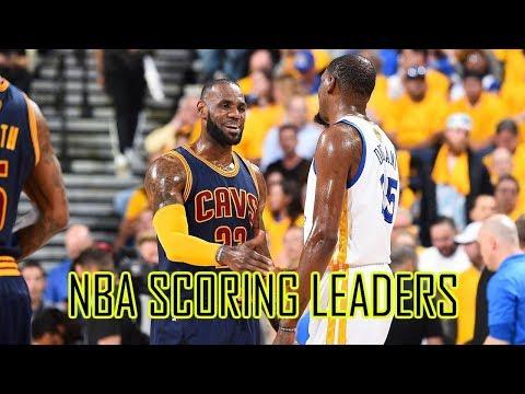 Top 10 Active Scoring Leaders