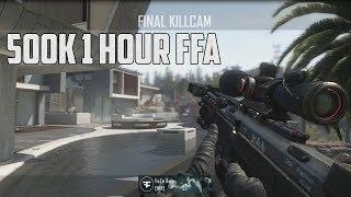 FaZe Rain : 500K !  - 1 HOUR FFA TrickShotting Live Commentary!