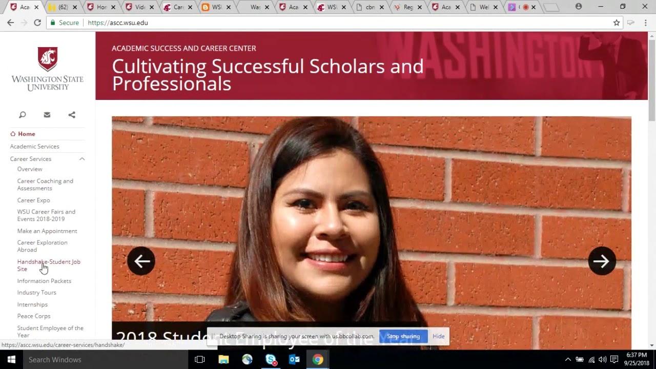 Image for WSU Global: Career Resources webinar