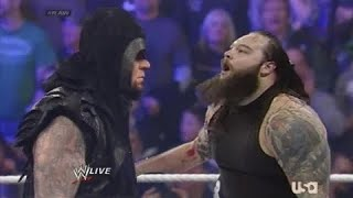 The Undertaker Returns & Responds to Bray Wyatt Wrestlemania challenge (FULL)  ᴴᴰ