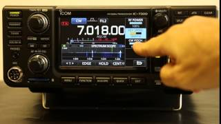 IC-7300, HF+50MHzアマチュア無線用トランシーバー http://www.icom.co...