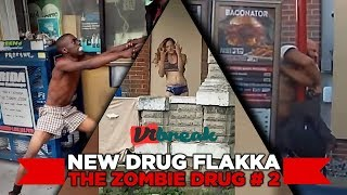 FLAKKA The Horrific Effects of the New Zombie Drug / Flakka Attacks COMPILATION # 2