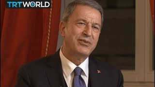 The War in Syria: Interview with Hulusi Akar, Turkey's defence minister