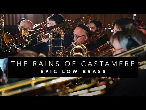 "Epic Low Brass ""The Rains of Castamere"" Game of Thrones (Cover for 40+ Low Brass)"