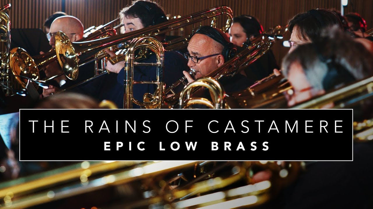 """Epic Low Brass """"The Rains of Castamere"""" Game of Thrones (Cover for 40+ Low Brass)"""