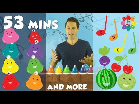 Music Lesson Compilation for Kids - Solfege, Rhythm, Colors