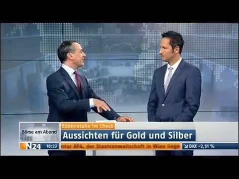 """Silberjunge Interview in der """"Börse am Abend"""" auf n24 - 05.05.2015"""