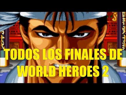 Todos los Finales de World Heroes 2 en Español HD