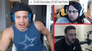 Tyler1 Reaches 30k Subs On Twitch  Imaqtpie With The Confidence Plays  T1 Sniper  LoL Moments