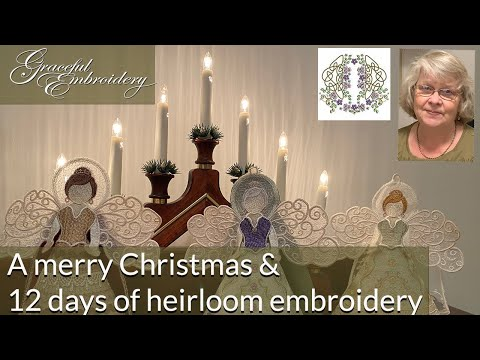 A merry Christmas from Graceful Embroidery