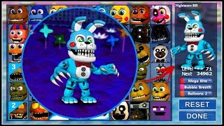 Adventure Nightmare Toy Bonnie In FNaF World! Remastered (Mod)