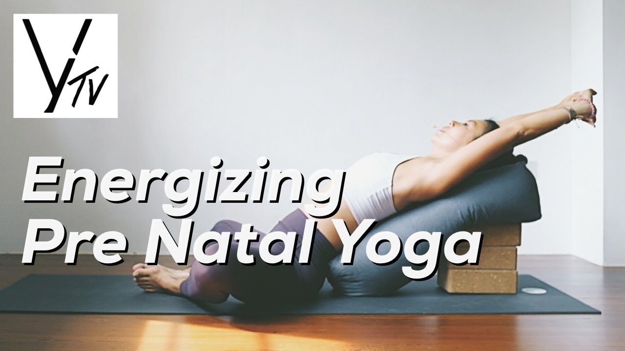 Yoga Lab TV | Energizing Prenatal Yoga with Cheryl Lin