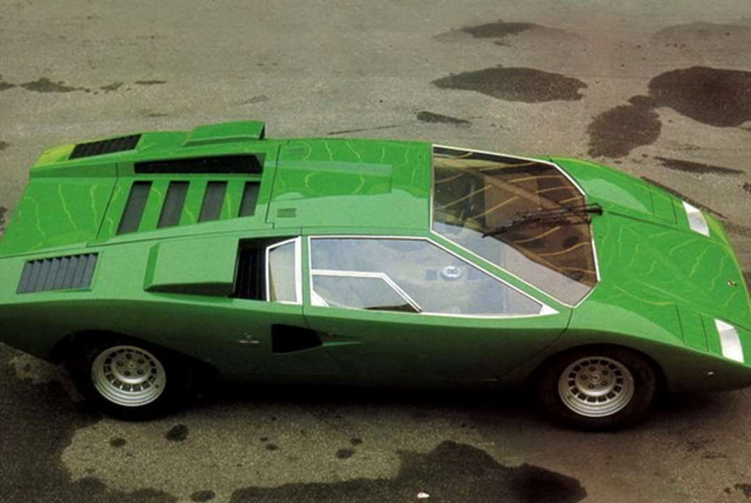 2907 Lamborghini Countach Lp400 1972 Prototype Car