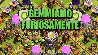 GEMMIAMO IL MUNICIPIO A LIV. 11!! - 12 MILA GEMME - CLASH OF CLANS