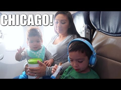 TRAVELING TO CHICAGO! | Travel Vlog