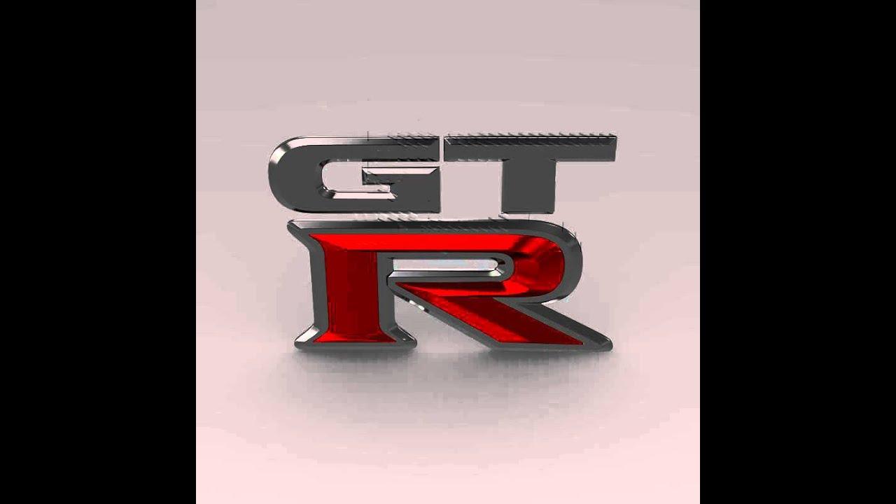 3d model of gtr logo review youtube