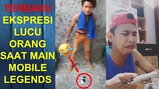 Ekspresi Lucu Orang Main Mobile Legends Part 2 | Marah - Marah, Bicara Kasar, Banting HP