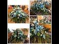 How to make a graveside saddle arrangement