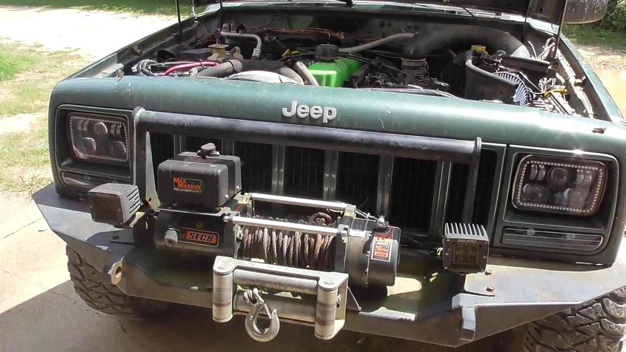 2000 Jeep Cherokee Found Coolant Leak Youtube