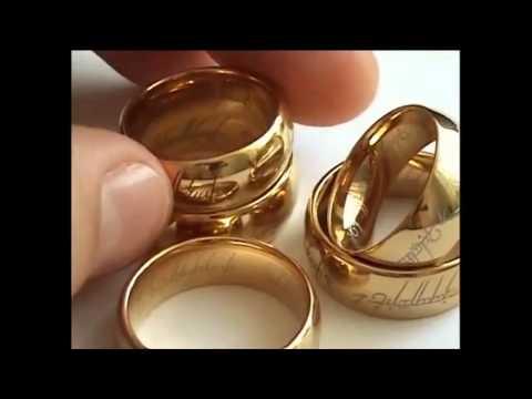 Заказать кольцо всевластия - уникальный аксессуар с надписью