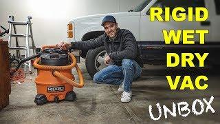 RIGID WET DRY VAC WD1451 + AUTO DETAILING KIT [UNBOX & 1ST LOOK]