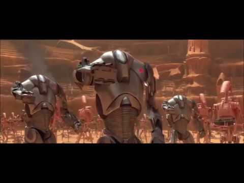 Battle of Geonosis But Everytime A Lightsaber Hits Something, Dex Jettster Says Well Whadya Know
