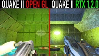 Quake 2 vs Quake 2 RTX - Weapon Comparison [NVIDIA 1.2.0 RT UPDATE - 27.11.2019]