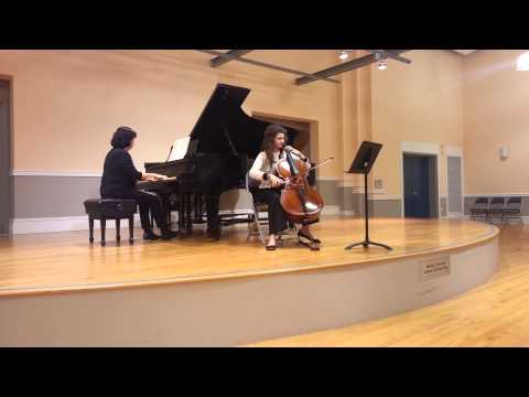 Brahms Cello Sonata in e-minor. 1st Movement