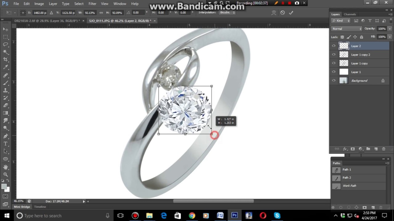 Best tutorial for high end jewelry retouching in photoshop youtube best tutorial for high end jewelry retouching in photoshop baditri Images