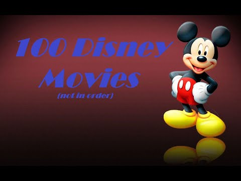 Top 100 Disney Movies