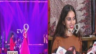 niveditha-gowda-first-reaction-on-chandan-shetty-marriage-proposal-at-yuva-dasara-2019